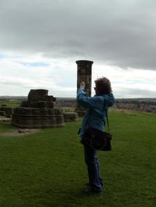 2012-09-16 Lou taking pic Whitby