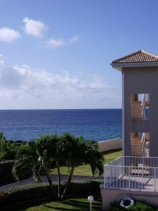 View from our Cayman condo - West Bay area