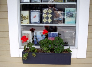 Black Sheep Books in Ganges - a great place to find books about the Gulf Islands, both historical and contemporary.