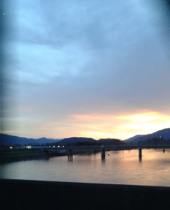20160226_Sunrise from car