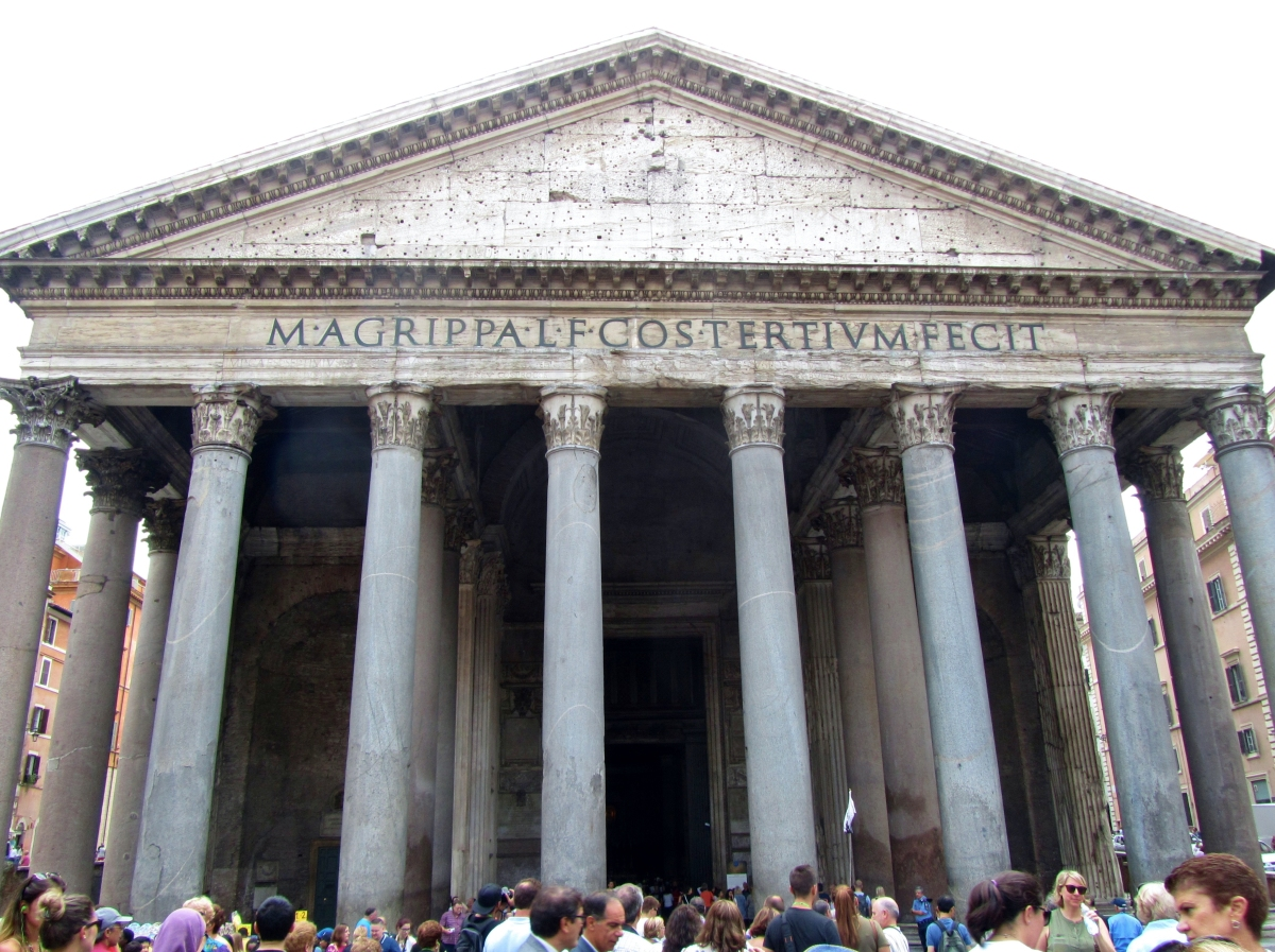 Roman Architecture Pantheon the pantheon: truly roman architecture – literary wanderings